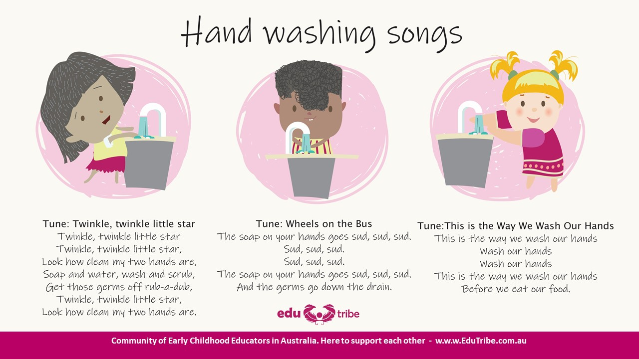 5 hand washing songs that kids will love to sing